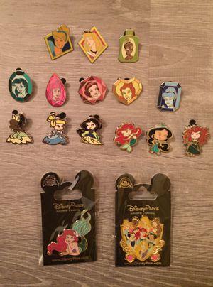 16 Disney pin tradable princess set for Sale in Orlando, FL