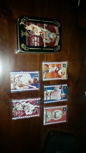 BABE RUTH 5 Cooperstown collection 5 metal cards sealed baseball nice shape for Sale in Columbus, OH
