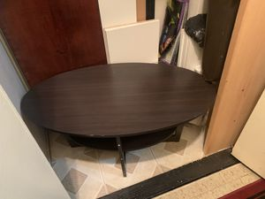 Brown Wood Table for Sale in The Bronx, NY