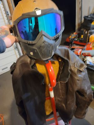 Motorcycle helmet and riding jacket for Sale in Salt Lake City, UT