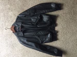 H&M leather bomber jacket Small 36 mens for Sale in Santa Monica, CA