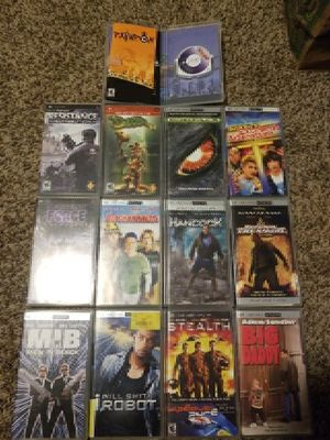 PSP GAMES & MOVIES for Sale in Tempe, AZ