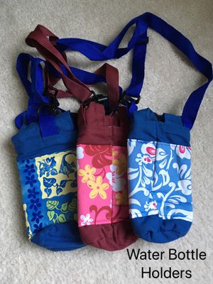 Fabric Water Bottle Sling Holders for Sale in Issaquah, WA