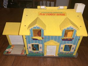 1969 Vintage Fisher Price Family Playhouse toy for Sale in Glendale, AZ