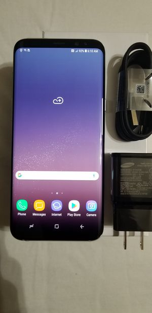 Galaxy S8 plus 64 GB T Mobile/GSM factory unlocked in excellent condition for Sale in Laurel, MD
