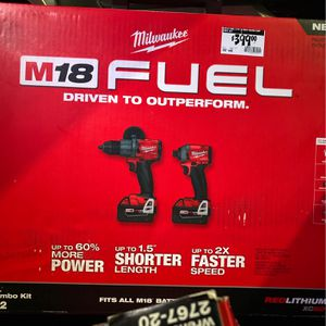 Milwaukee 2 Tool Combo Kit for Sale in Paso Robles, CA