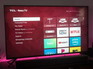 TCL Series 6 Roku Tv for Sale in Miami, FL