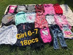girl clothes 6-7y FIRM PRICE NO DELIVERY CASH OR TRADE FOR BABY FORMULA for Sale in Los Angeles, CA