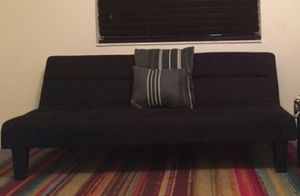 Futon black Good condition for Sale in Miami, FL