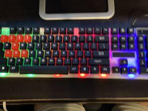 Gaming LED keyboard for Sale in Santa Maria, CA