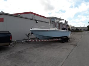 1985 21feet c/c invader with t top for Sale in Hollywood, FL