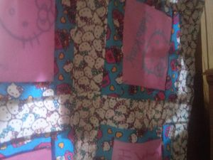 Hello kitty quilt for Sale in Leesburg, FL