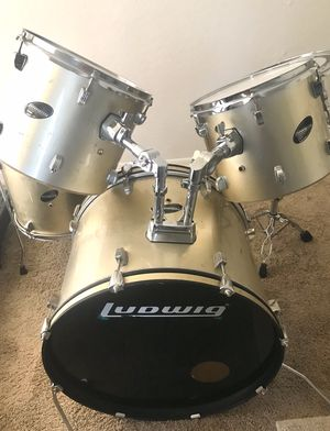 5pc Ludwig Drum Set - Accent CS Combo Edition for Sale in Sun Lakes, AZ