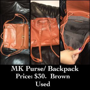 Brown BackPack Purse for Sale in Brockton, MA