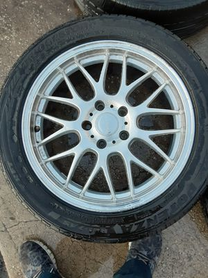 """17"""" rims and tires 5x114.3 for Sale in Kissimmee, FL"""
