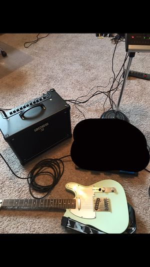 Boss Katana 50 and Squire Bullet Telecaster (would trade) for Sale in La Vergne, TN
