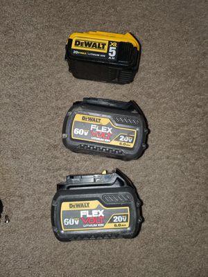 Baterias las 3 por este precio for Sale in Springfield, VA