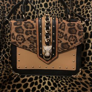 Also Leopard Print Crossbody And Or Satchel for Sale in Temple Hills, MD