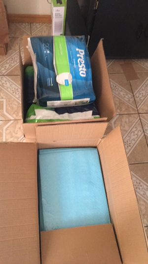 Adult size diapers M and chuck's FREE for Sale in Los Angeles, CA
