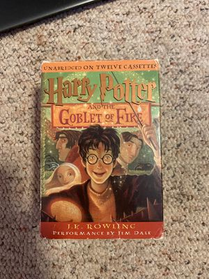 Harry Potter Book 4 Audio Book for Sale in Burlington, CT