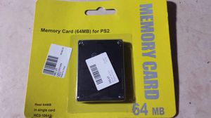 Playstation 2 memory card - NEW for Sale in Peoria, AZ