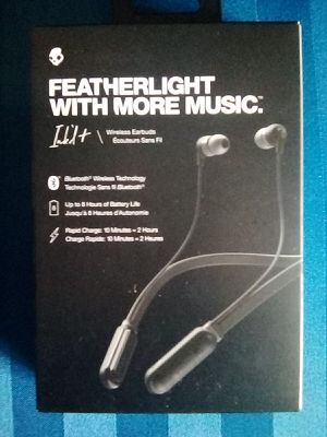 Scullcandy Featherlight Bluetooth Wireless Ink'dt/Earbuds for Sale in Evesham Township, NJ