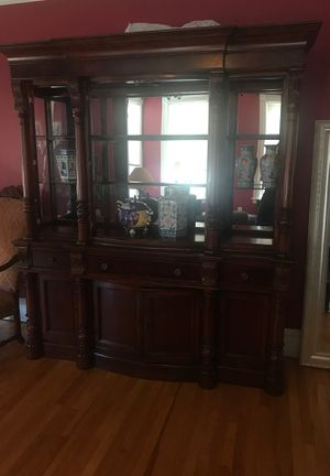 Cherry Wood Hutch for Sale in Worcester, MA