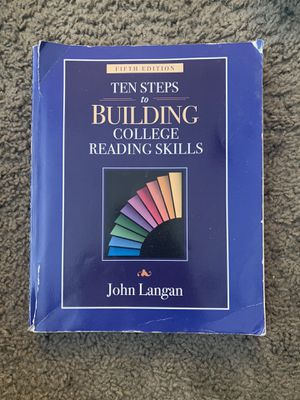 Ten Steps to Building college Reading Skills for Sale in Santa Ana, CA