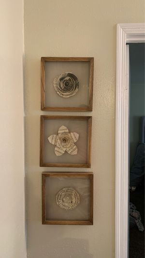 Music wall frames for Sale in Baton Rouge, LA