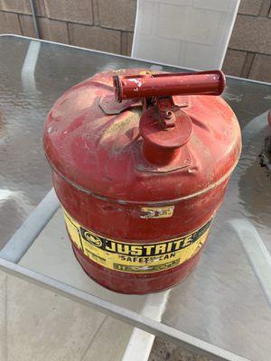 Metal Gas Can for Sale in Hemet, CA