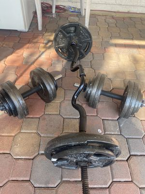 Weights and dumbbells for Sale in North Las Vegas, NV