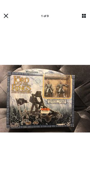The Lord of the Rings Armies of Middle Earth Gondorian Catapult Condition is new for Sale in Fresno, CA