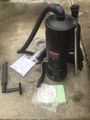 RUBBERMAID Back Pack Vacuum Cleaner BP10Q for Sale in Columbus, OH