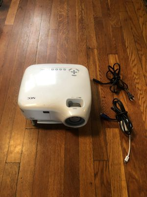 NEC projector works amazingly! it's great for your movie room for outside movie night etc. I'm open to reasonable negotiations. for Sale in Washington, DC