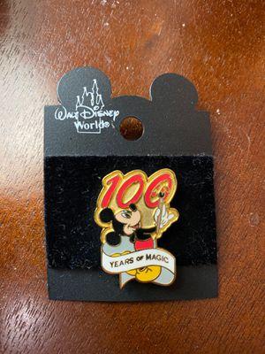 100 years of magic Disney pin for Sale in Warwick, RI