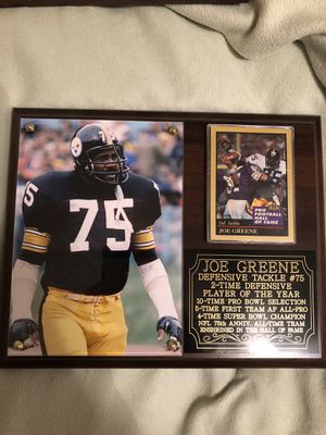 Steelers plaques for Sale in Sun City, AZ