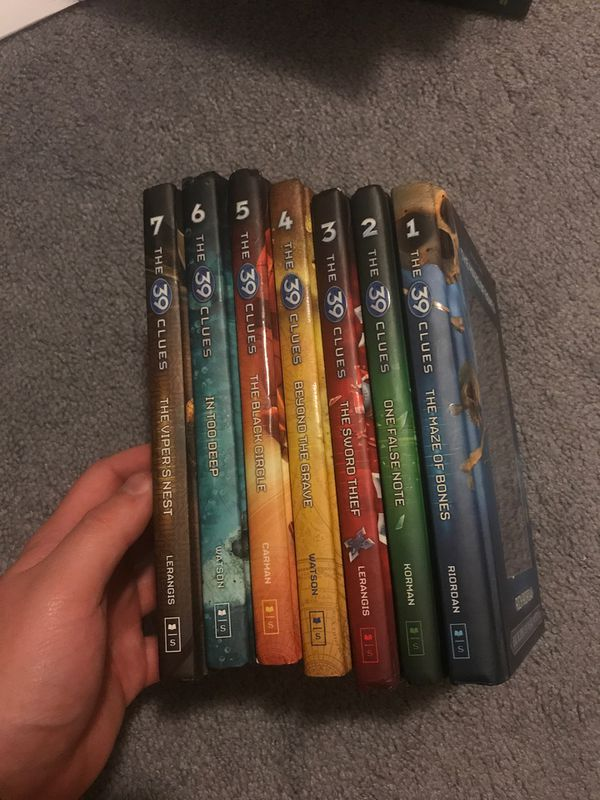 The 39 Clues first seven books