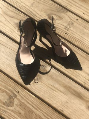 Black quilted heels for Sale in Columbus, OH