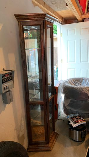Glass display case for Sale in Milton, WA