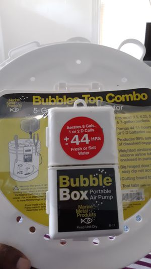 bubble top combo for Sale in Washington, DC