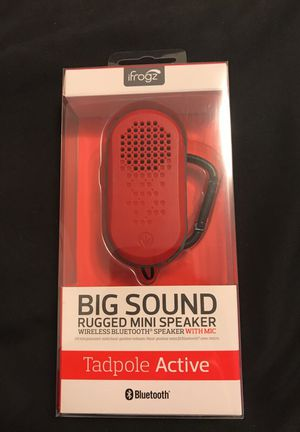 Big Sound Rugged Mini Speaker (Wireless Bluetooth) for Sale in Miami, FL