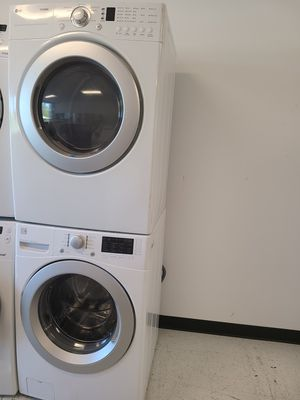 Kenmore front load washer and electric dryer set used in good condition with 90 days warranty for Sale in Mount Rainier, MD