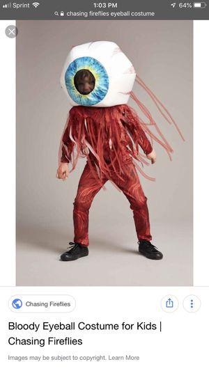 Chasing Fireflies Bloody Eyeball Halloween Costume for Sale in Farmington, CT