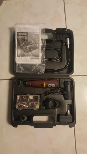 NEW Chicago Electric Power Tools 9.6 Volt Cordless Variable Speed Rotary Tool Kit for Sale in Tampa, FL