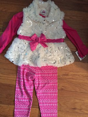 Baby girl vest outfit Set 18 months new with tags for Sale in Queens, NY