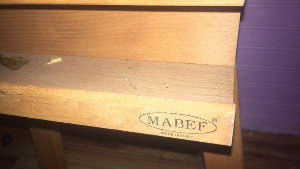 Mabef Italian wood artist easel
