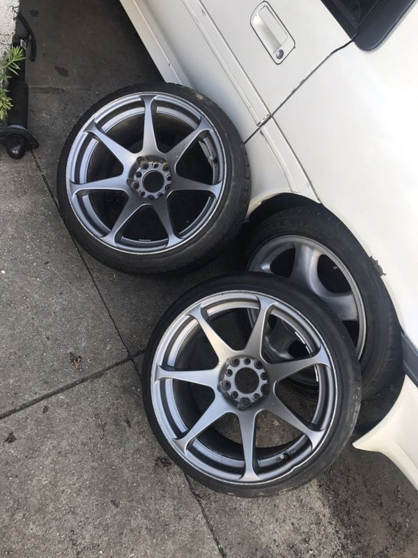 Toyota Henderson Nc >> 17x9.5 MB battles wheels 5x114 drift spares for Sale in Queens, NY - OfferUp