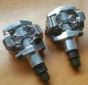 Shimano Deore M505 SPD Clipless Bike Pedals - Great Condition for Sale in Heber, AZ
