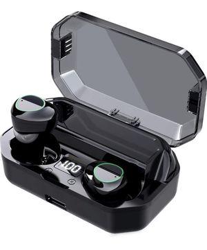 Bluetooth Headphones, Wireless Earbuds, OULDPA Bluetooth 5.0 Headphones with LED Charging Case,Noise for Sale in Brooklyn, NY