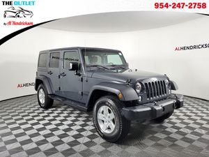 2016 Jeep Wrangler Unlimited for Sale in Coconut Creek, FL